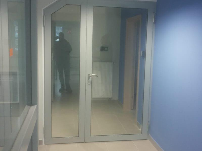 Zdjęcie główne realizacji: Drzwi aluminiowe wewnętrzne