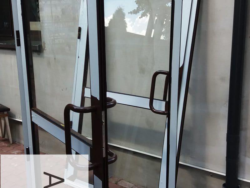 Drzwi aluminiowe wewnętrzne