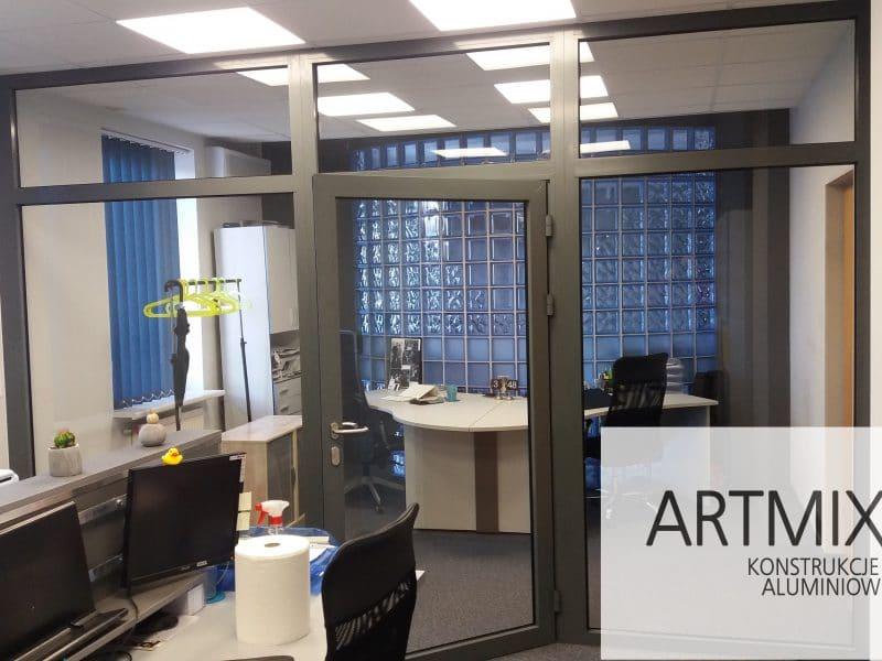 Zdjęcie główne realizacji: Szklane ściany działowe