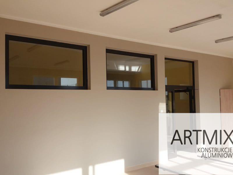 Zdjęcie główne realizacji: Drzwi aluminiowe PPOŻ