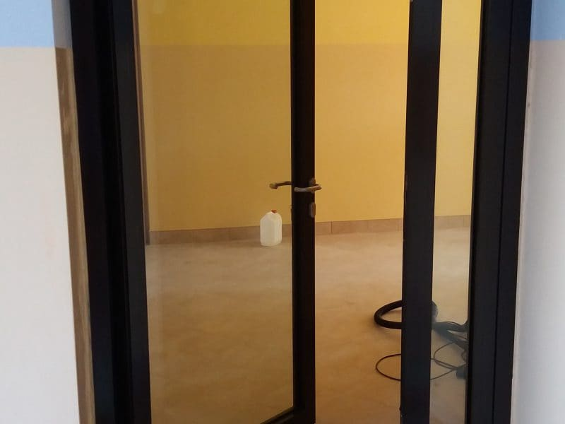 Drzwi aluminiowe PPOŻ