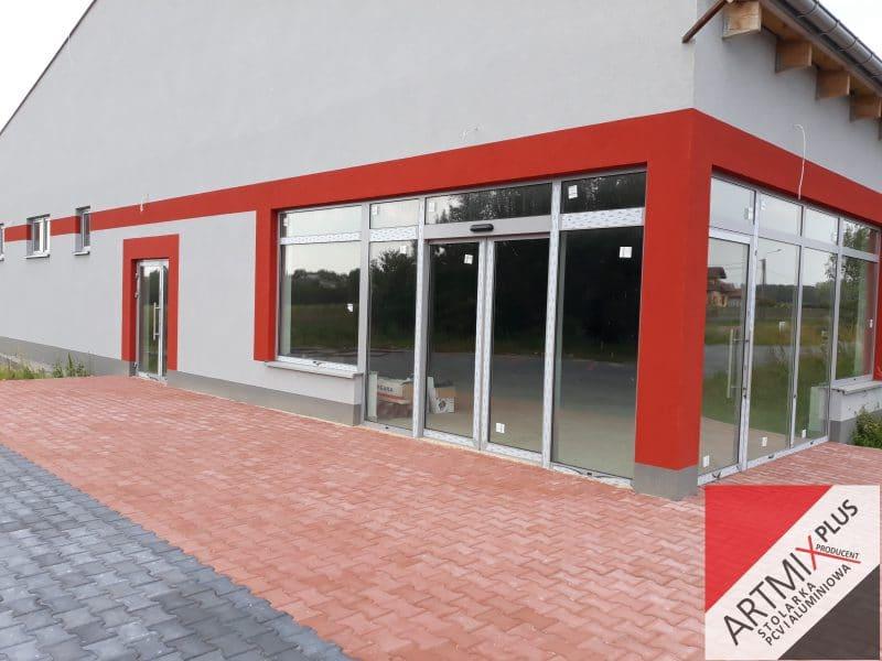 Zabudowy sklepów